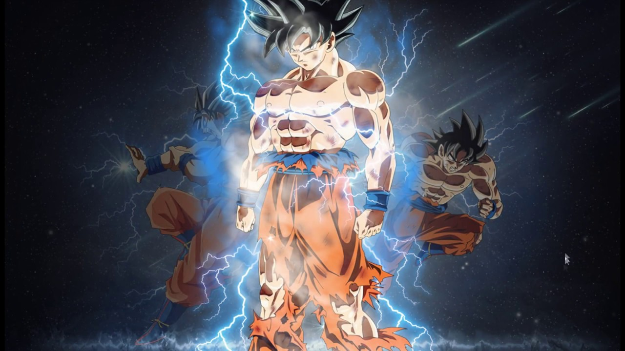 Wallpaper Dragon Ball 3d Hd Goku Ultra Instinto Fondos De Pantalla Wallpaper