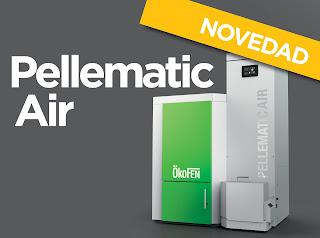 Pellematic Air caldera aire