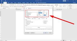 Cara Mengubah Font Bawaan (Default) Pada Ms Word