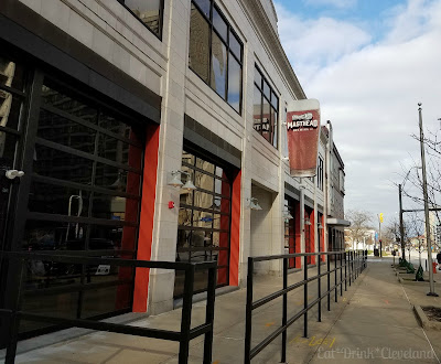craft beer, cleveland brewery, outdoor dining