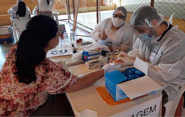 Ampliação de testagem ajuda no combate ao coronavírus e continua neste sábado (19), em Valparaíso de Goiás