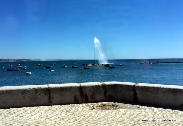 carretera de la costa de Lisboa a Cascais