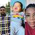 Nollywood actor, Browny Igboegwu and wife celebrates daughter's 10 days on earth.