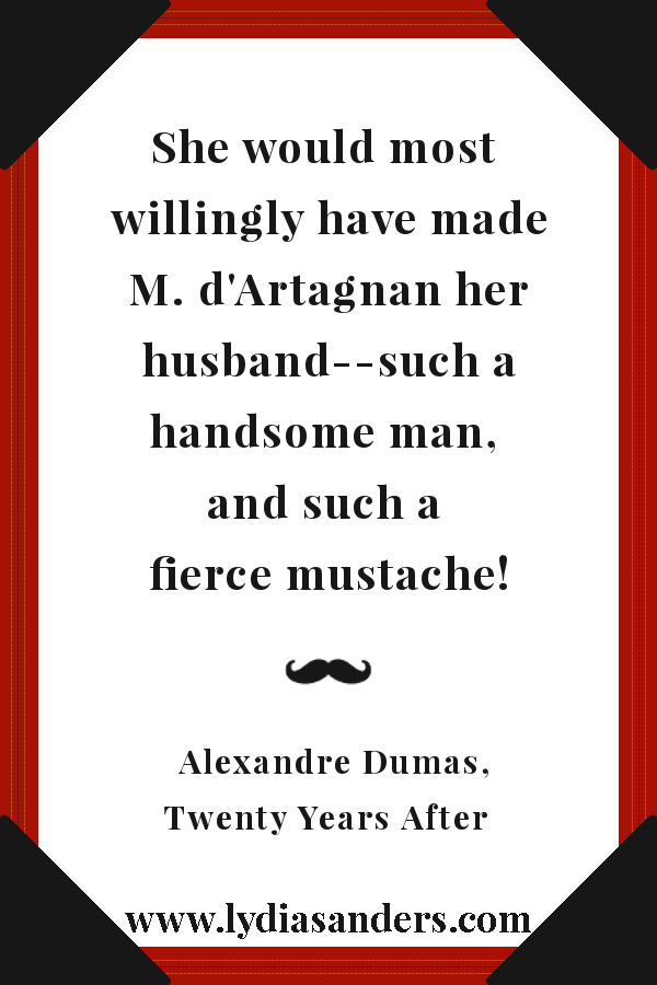 Such A Fierce Mustache! | Lydia Sanders #TwistyMustacheReviews