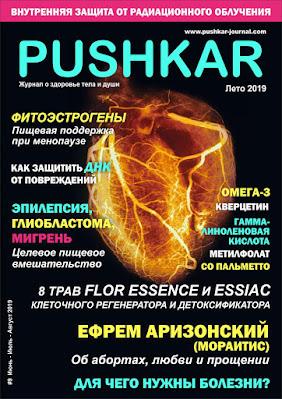 ЖУРНАЛ PUSHKAR №9 ЛЕТО 2019.