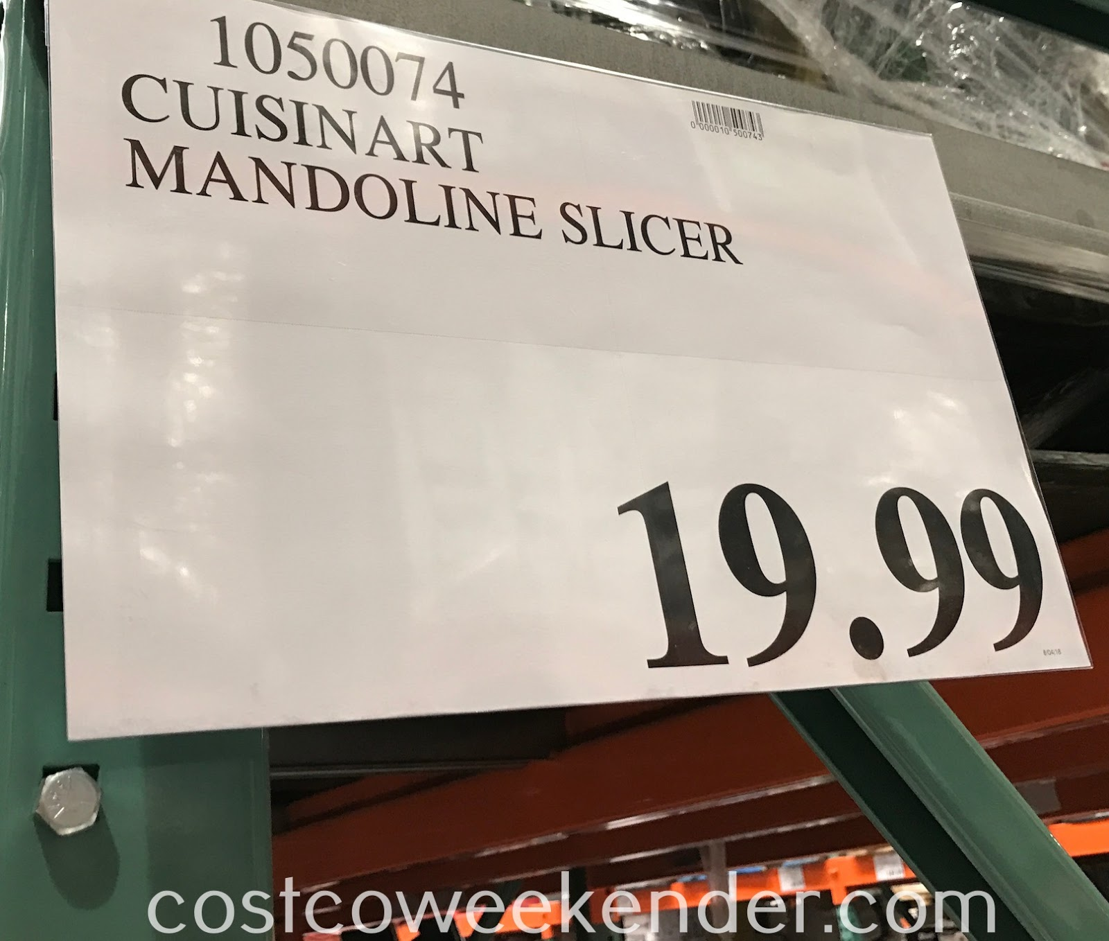 Deal for the Cuisinart Mandoline Slicer at Costco