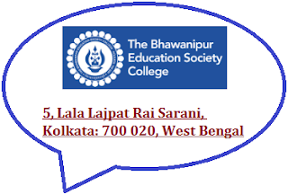 Bhawanipur Education Society College, 5, Lala Lajpat Rai Sarani, Kolkata: 700 020, West Bengal