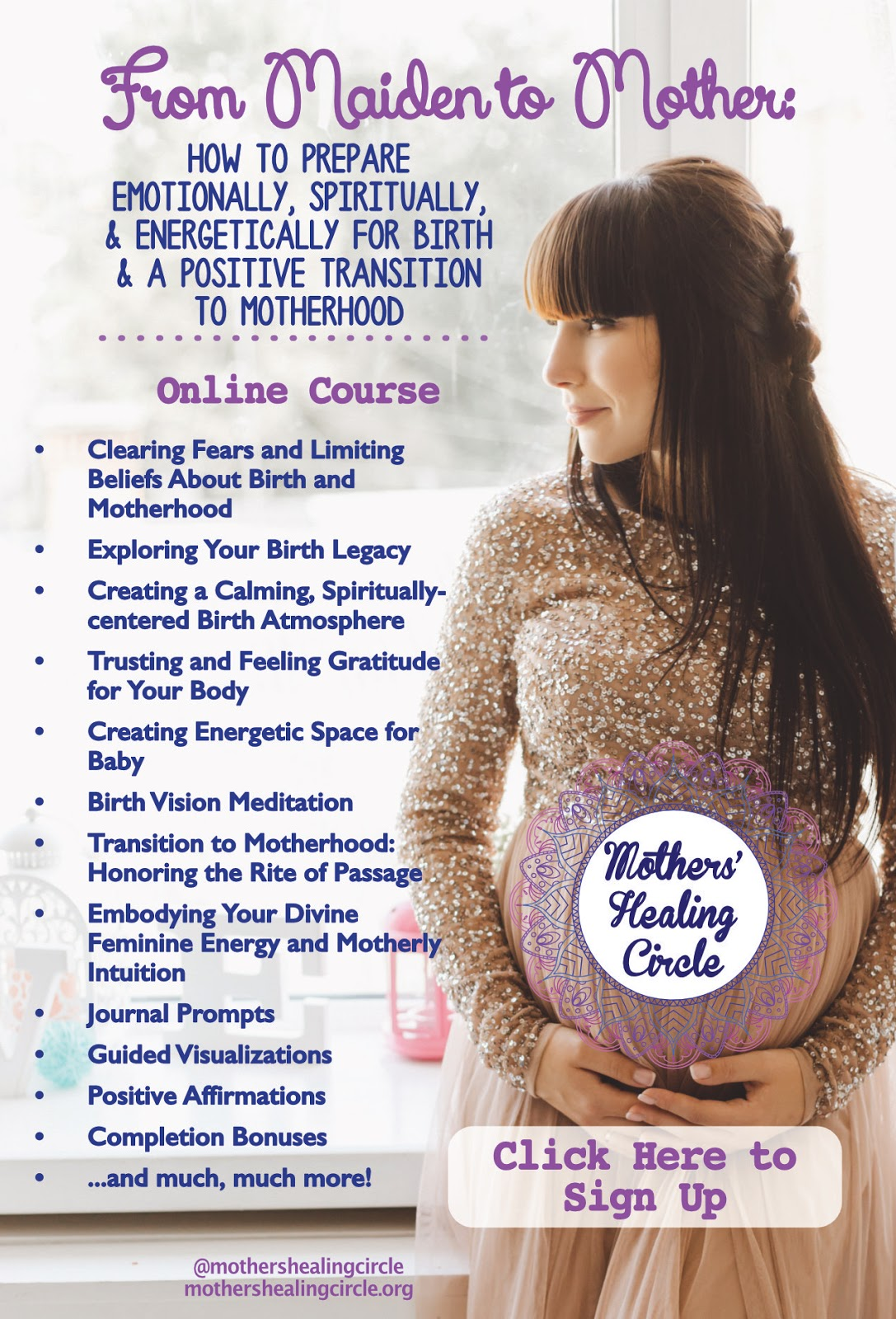 How to prepare emotionally, spiritually, and energetically for birth and a positive transition to motherhood