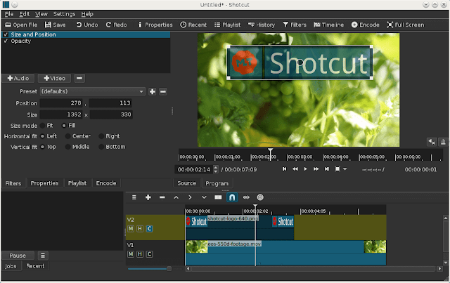 Shotcut - Open Source Final cut pro X alternatives