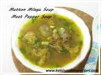 Mutton MilaguPepper Soup