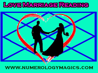 love marriage reading in horoscope by astrologer and numerologist