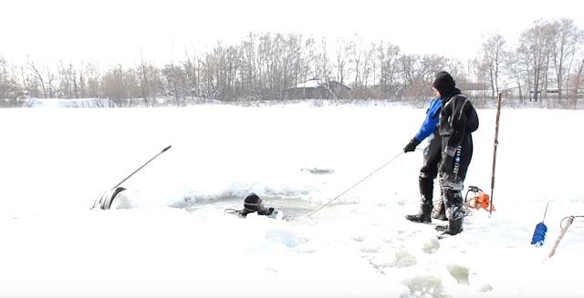 В Уфимском озере водолазы ищут женщину