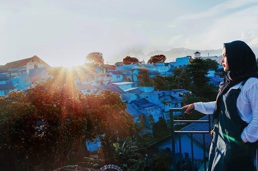 12 Foto Terbaru Kampung Biru Arema dan Tiket Masuk