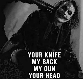 my gun your head