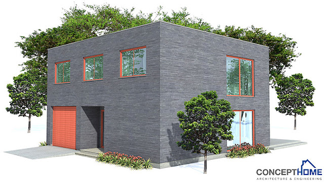 Affordable Home Plans Modern Economical Home Plan Ch160