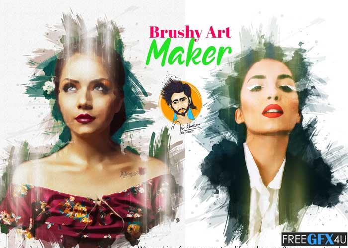 Brushy Art Maker