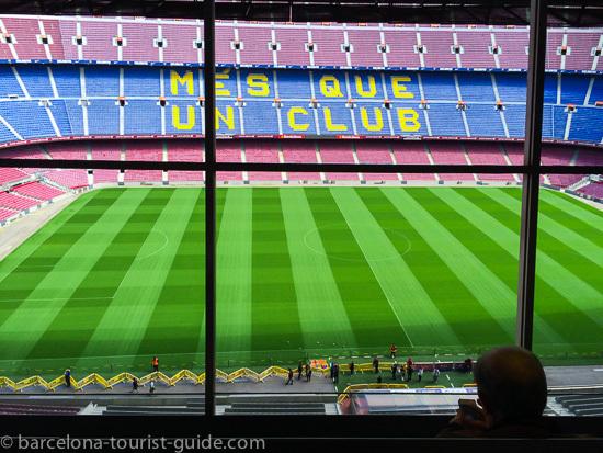 """Lema do FC Barcelona """"Mais do que apenas um clube"""""""