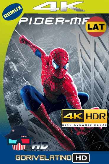 El Hombre Araña (2002) BDRemux 4K HDR Lat-Cas-Ing MKV