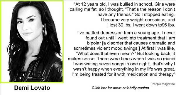 Celebrities Like Demi Lovato Have Fought Through The Pain And Are Now As Strong As They Can Ever Be They Are Now Living Their Dreams