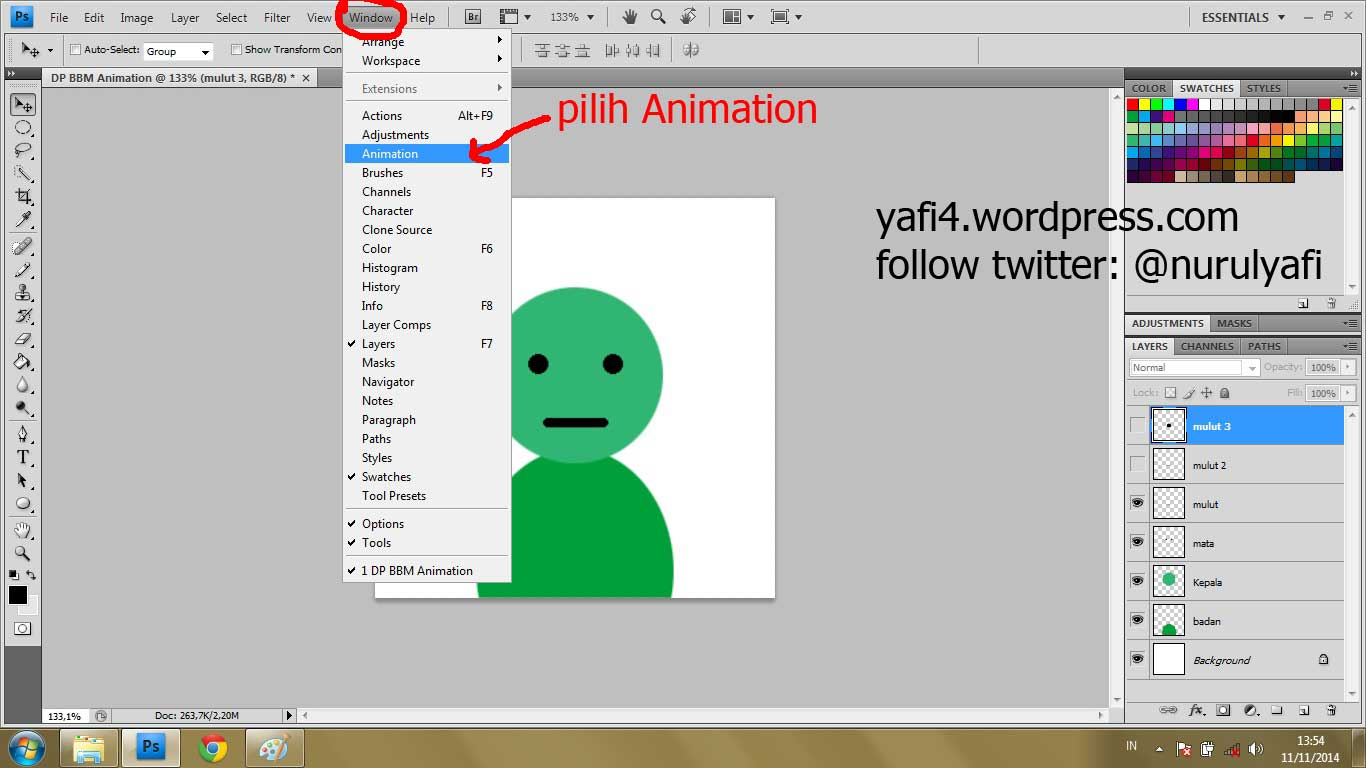 Cara Membuat Animation GIF Dengan Photoshop CS4 Yafi Blog