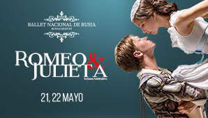 ROMEO Y JULIETA por el Ballet Nacional De Rusia en Bogotá