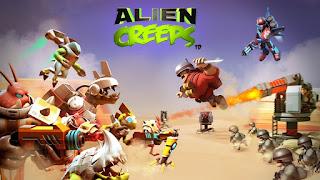 Download Gratis Alien Creeps TD Mod Apk v2.7.1 (Mega Mod) Terbaru 2016
