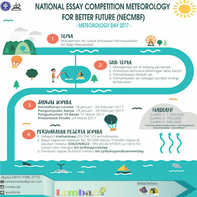 Lomba National Essay Competition 2017 by Institut Pertanian Bogor
