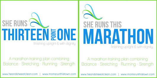 ** NEW WORKOUT PLANS ** She RUNS Half Marathon and Marathon Training Plans ~ He and She Eat Clean