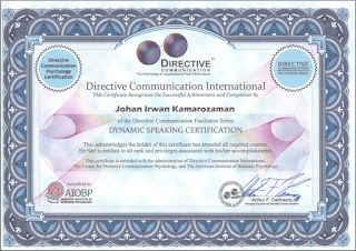 Certified Directive Communication - Dynamic Speaking