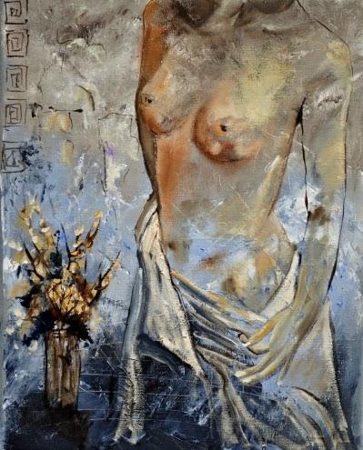 Nu - Cores fortes e vibrantes nas pinturas de Pol Ledent