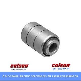 Bánh xe công nghiệp Nylon cố định sử dụng ổ bi chịu tải 82kg | S2-3058-255C www.banhxepu.net