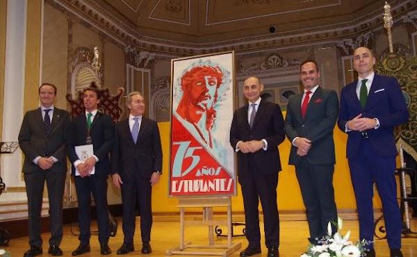 La Cofradía de los Estudiantes de Málaga presenta el cartel de su 75º aniversario