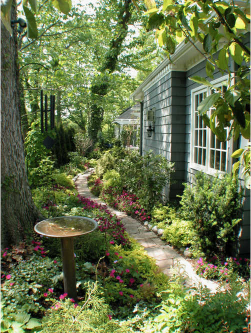 Oh how I love a great garden path
