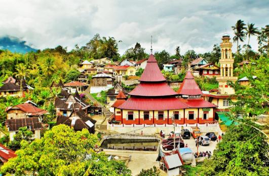Desa Tercantik di Dunia, di Indonesia Salah satunya