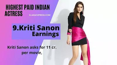 Kriti Sanon Earrings Per Months