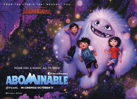 Download Abominable (2019) Dual Audio [Hindi+English] 720p + 1080p Bluray ESubs