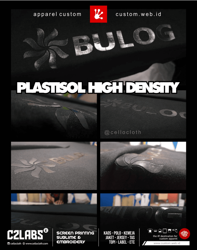 Sablon Kaos Plastisol HD High Density - Sablon Kaos Jogja