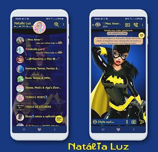 Cat Woman Theme For YOWhatsApp & Fouad WhatsApp By Natalia Luz
