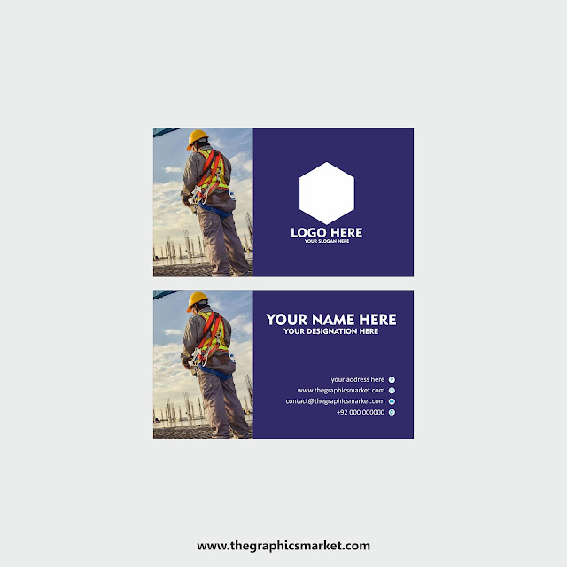 visiting card design, the graphics market,