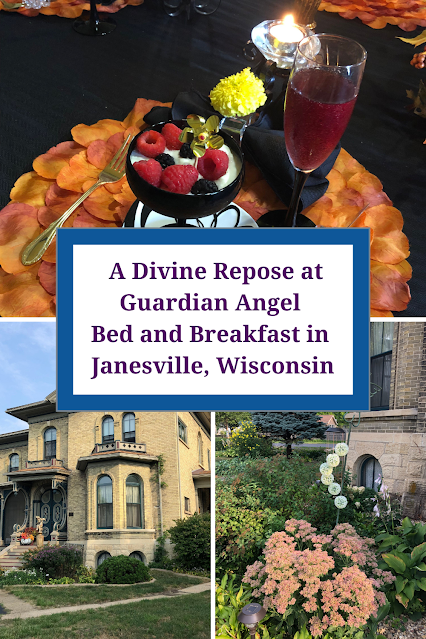 A Divine Repose at Guardian Angel  Bed and Breakfast in  Janesville, Wisc