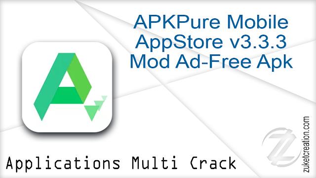 APKPure Mobile AppStore v3.3.3 Mod Ad-Free Apk