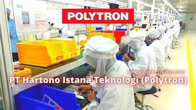 Lowongan Kerja PT Polytron