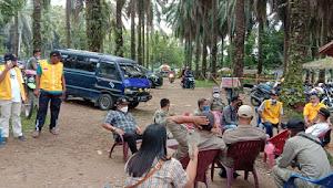 Satgas Gugus Covid-19 Kecamatan Salapian Bubarkan Pengunjung Di Pemandian Alam Namusimpur