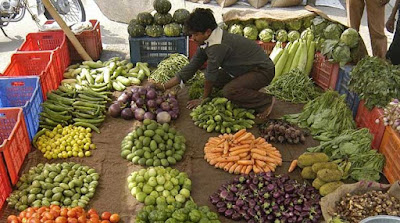 Food prices also push up India's wholesale inflation