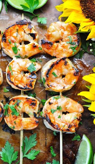 Marinated Grilled shrimp - 2