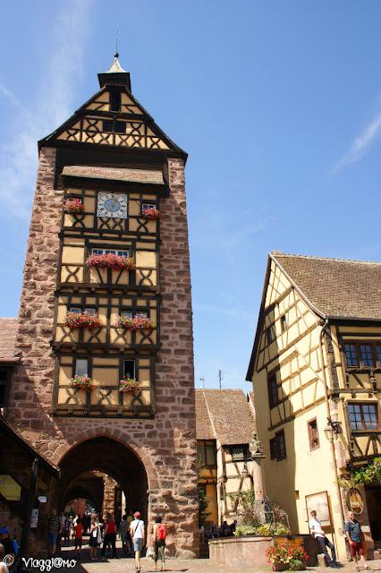 Il dolder di Riquewihr, simbolo del villaggio