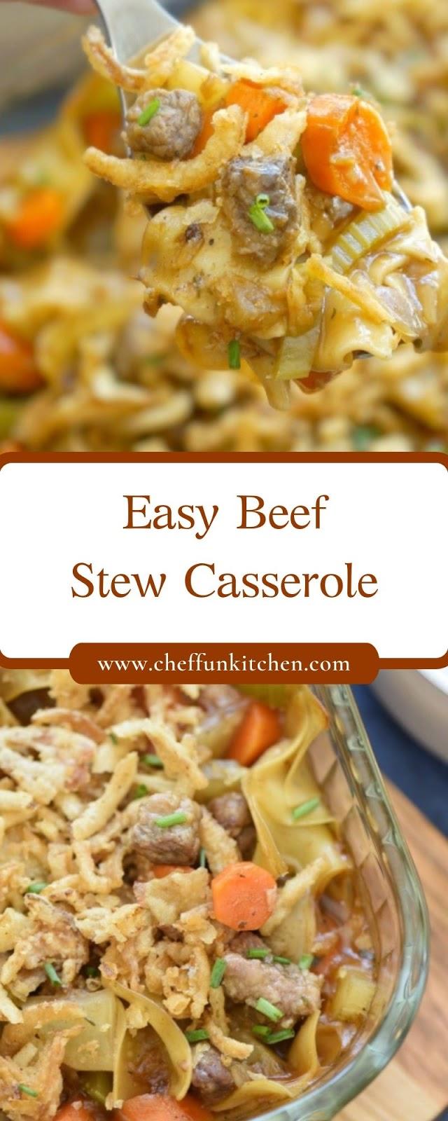 Easy Beef Stew Casserole