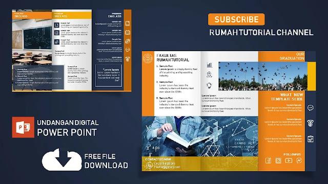 Download Brosur Dan Membuat Desain Brosur Powerpoint Gratis