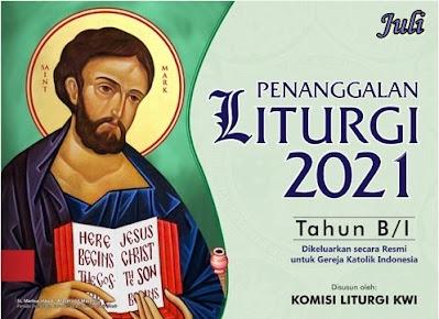 KALENDER LITURGI JULI 2021