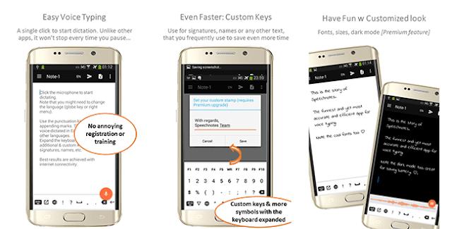قم بالتحدث لهذا التطبيق في هاتفك وسوف يقوم بتحويل صوتك إلي نص بكل سهولة لصناع المحتوي !